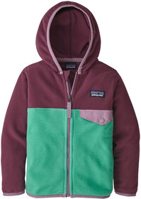 Patagonia Micro D Snap T Jakke Børn, feather grey with